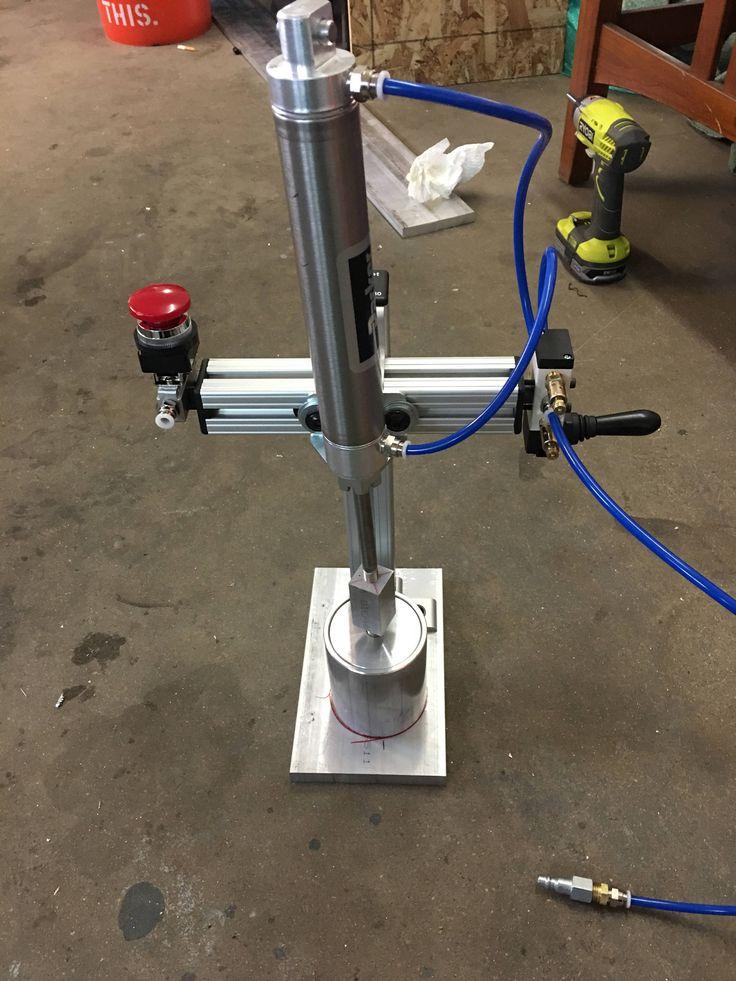 Pneumatic Bath Bomb Press by Bath Bomb Solutions by