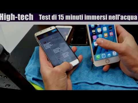 Samsung Galaxy s7 edge vs iPhone 6s