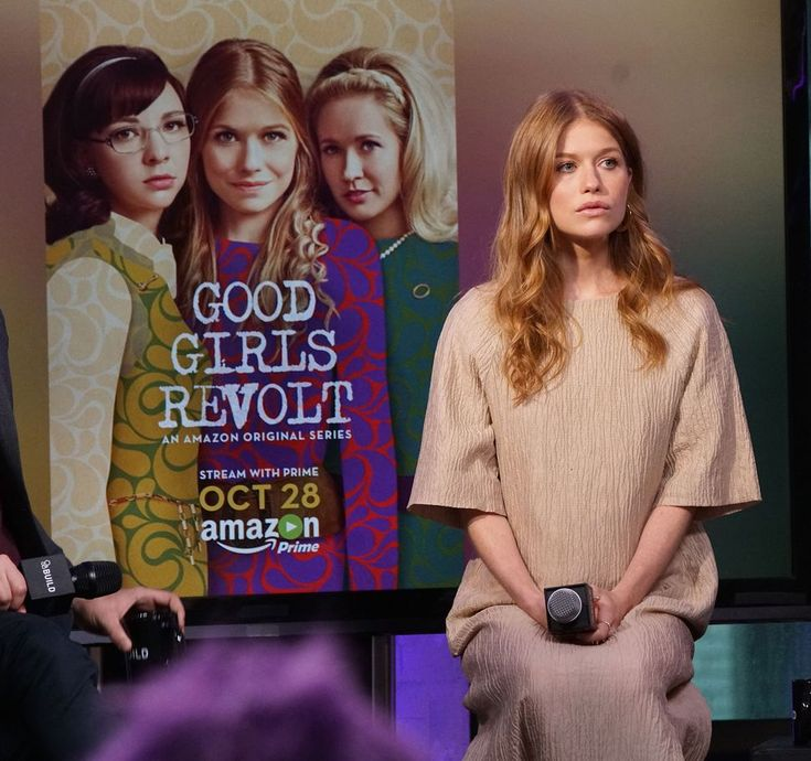 Amazon cuts highly-rated 'Good Girls Revolt'     - CNET Good Girls Revolt actor Genevieve Angelson in New York City. Photo by                                            Bennett Raglin WireImage/Getty                                          High ratings apparently arent enough to save a show from the chopping block. Amazon will cancel 'Good Girls Revolt a period drama that debuted on Amazon Prime as an original series earlier this year according to The Hollywood Reporter.  Why? We arent sure…