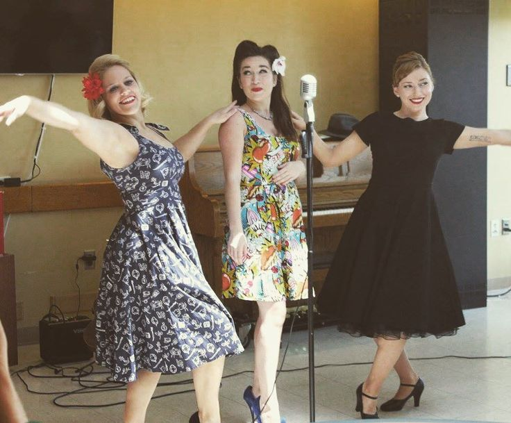 """179 Likes, 2 Comments - @pinupsforvets on Instagram: """"The ladies of Pin-Ups On Tour performing for the #Veterans at the DC VA hospital on Monday.…"""""""