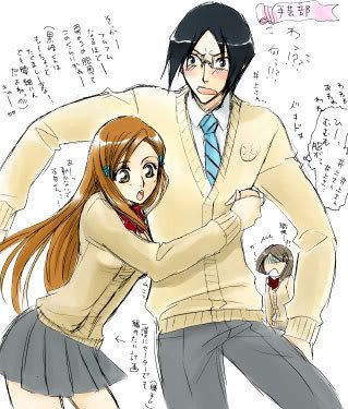 uryu and orihime relationship