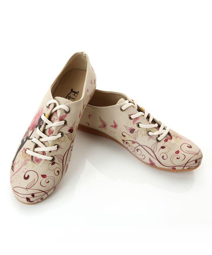 White & Pink Fairy Oxford
