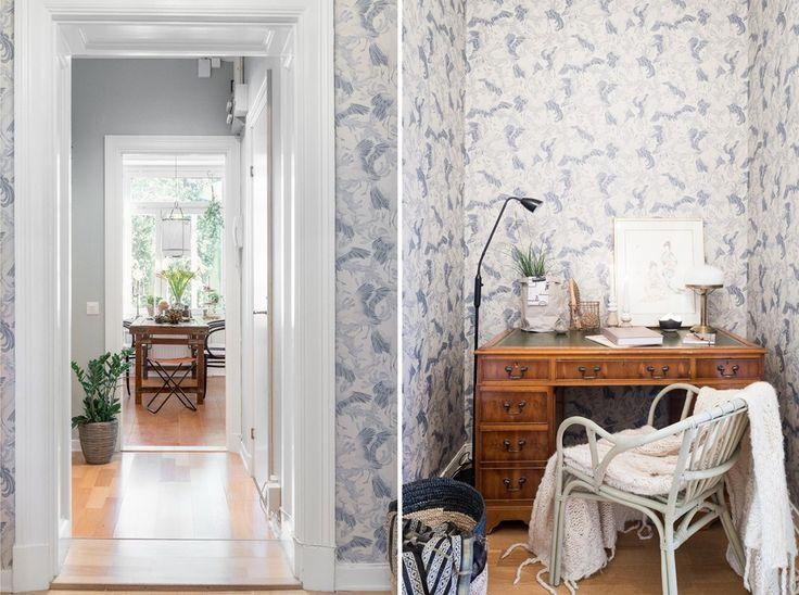 Just nu ligger det en riktig pärla i lägenhetsform uppe hosLundin Fastighetsbyråi Göteborg. Alla tapeter i lägenheten är designade avEmma von Brömssenoch ingår i en kollektion hon...