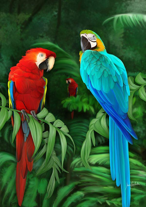 Missionen Digital Painting Fauna Von: Iván Pawluk – Татьяна Саваськова