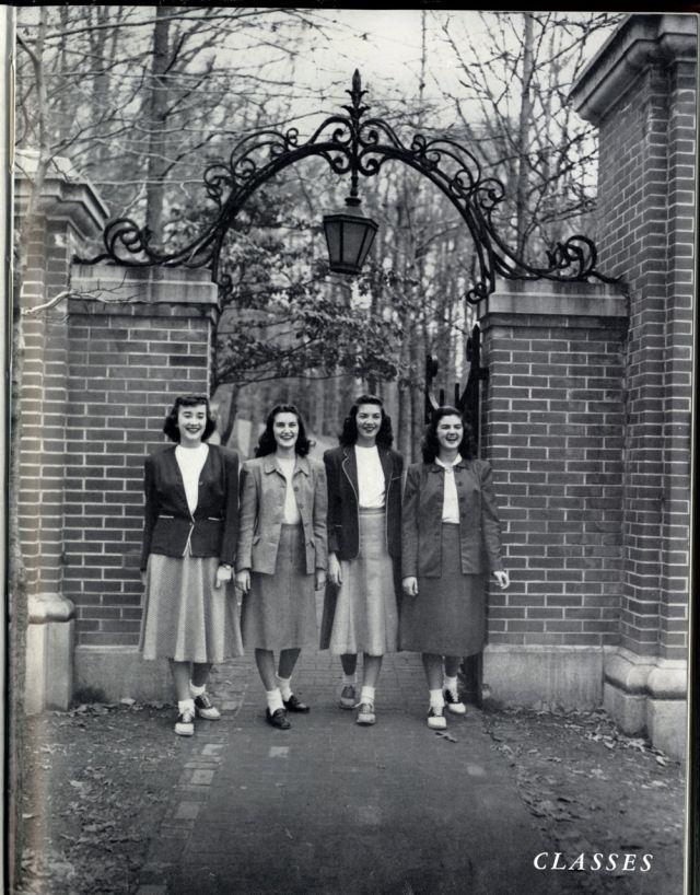 Collegiate 1940s