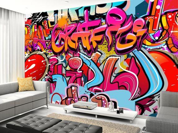 Hip hop graffiti urban art Wall Mural