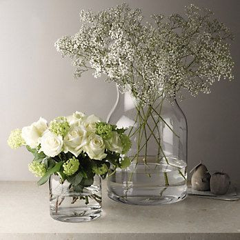Pablo Glass Vase - Small | The White Company