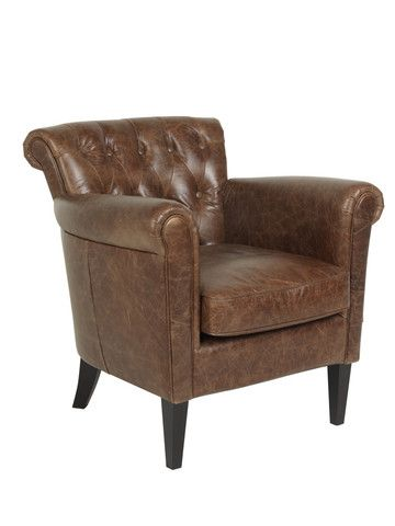 Chester Chair £942 #meyerandmarsh #armchair #leatherarmchair