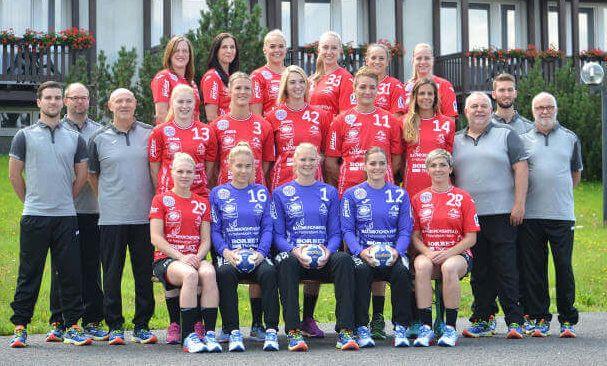 Handball Champions League: Thüringer HC in der Hauptrunde der Top 12. Handball Champions League: Mit einem 33:27 (15:12) Sieg gegen Glas ...