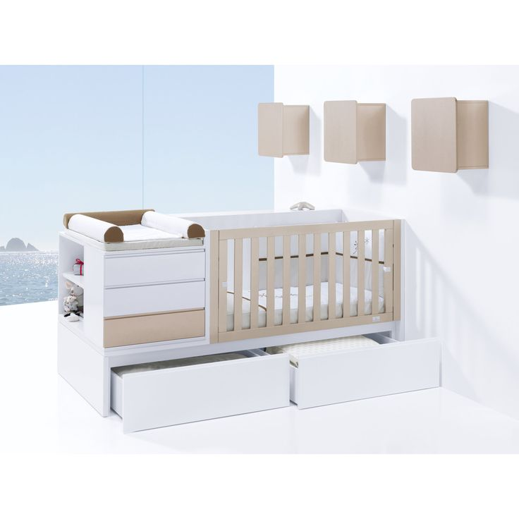 The Modular collection from Alondra would make a stunning addition to your little one's nursery! Choose from a pull out bed or drawers, this converts to a toddler bed then a junior bedroom! Other colours available and free UK delivery! Matching items also available http://www.casabebe.co.uk/modular/