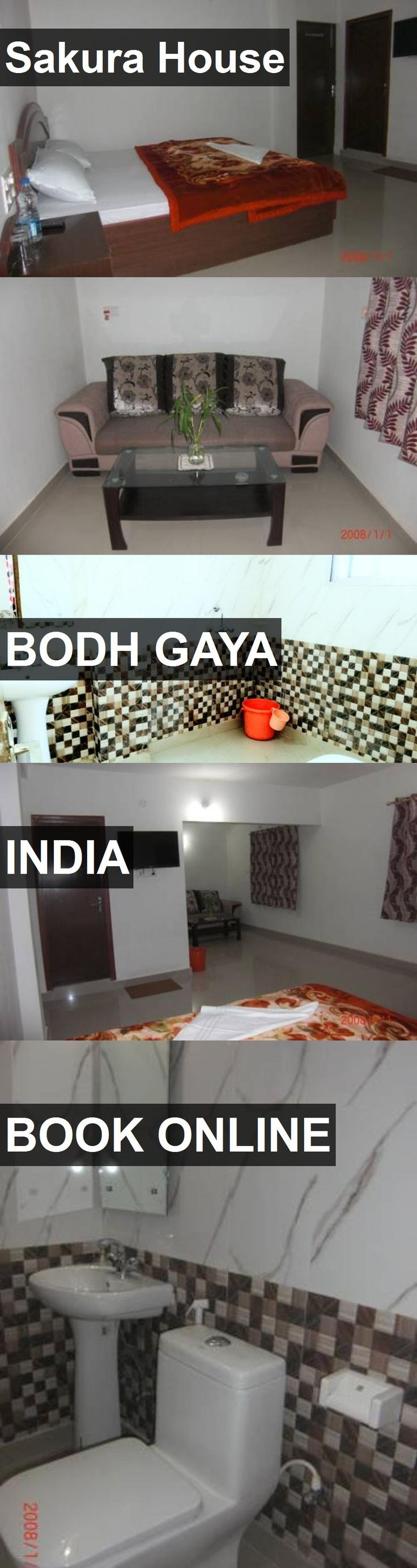 Hotel Sakura House in Bodh Gaya, India. For more information, photos, reviews and best prices please follow the link. #India #BodhGaya #travel #vacation #hotel