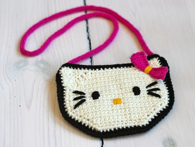 Crochet Purse Patterns Hello Kitty : Hello Kitty Purse Crochet Pinterest Kits, Pattern ...
