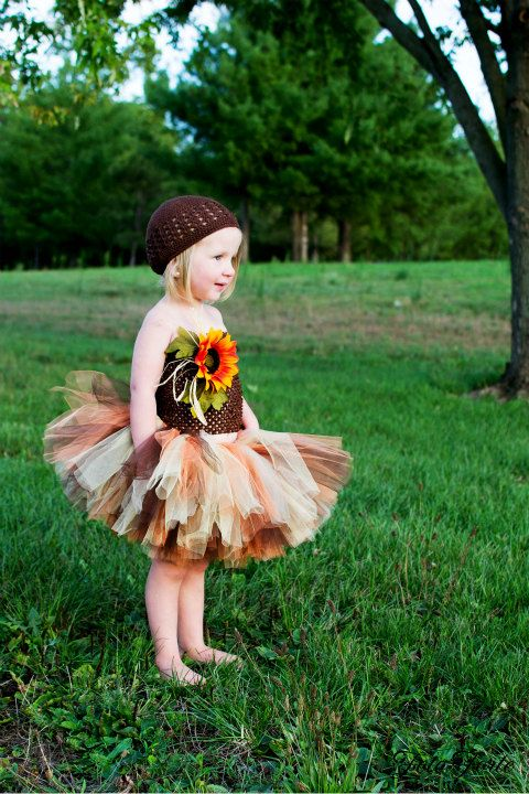 Scarecrow Tutu Costume  Includes the tutu and by princesstutus2010, $32.00