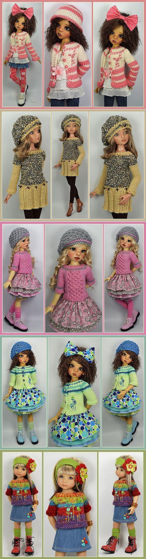 Одежда для кукол.Фото.