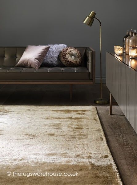 Dolce Gold Rug - Gold Rugs
