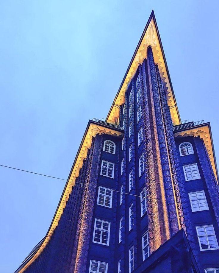 Hamburgs Chilehaus im Kontorhausviertel: Schönheit aus Backstein