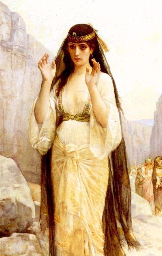Alexandre Cabanel - La fille de Jephté