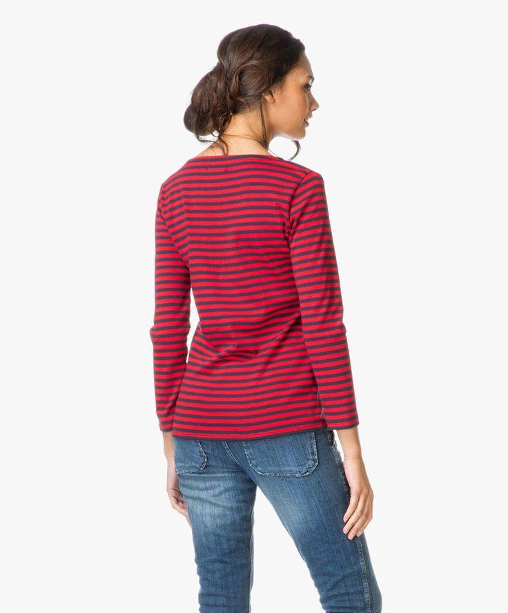Petit Bateau Women's striped T-shirt $72