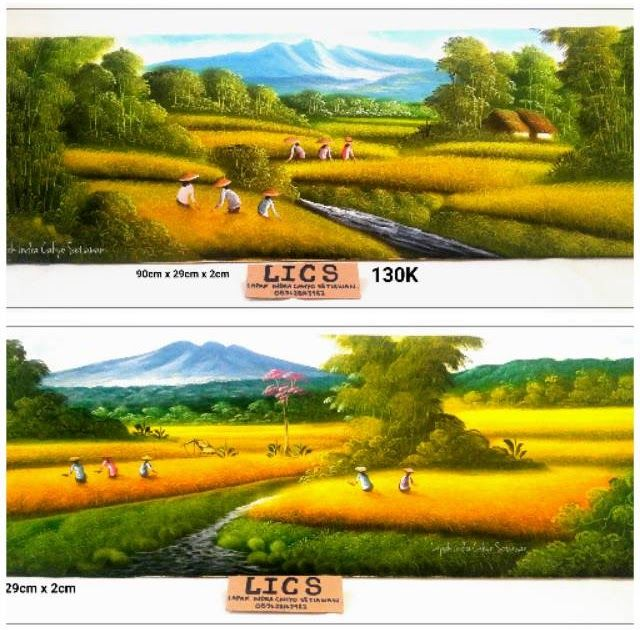 Paling Keren 30 Contoh Lukisan Pemandangan Persawahan Lukisan Pemandangan Gunung Dan Sawah Download Gambar Wallpaper Pemandangan Sawah Di 2020 Pemandangan Gambar