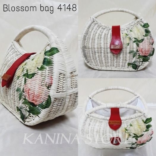 Tas Rotan Detil produk Blossom bag 4148 When Indonesia should be proud of Its Rattan bag