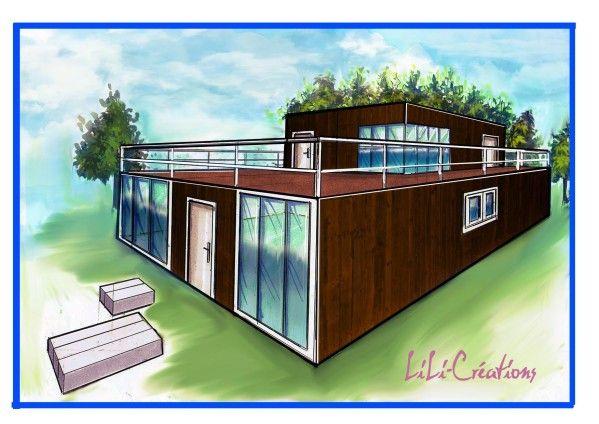 amnager un container en maison great maison conteneur une conomique et cologique with amnager. Black Bedroom Furniture Sets. Home Design Ideas