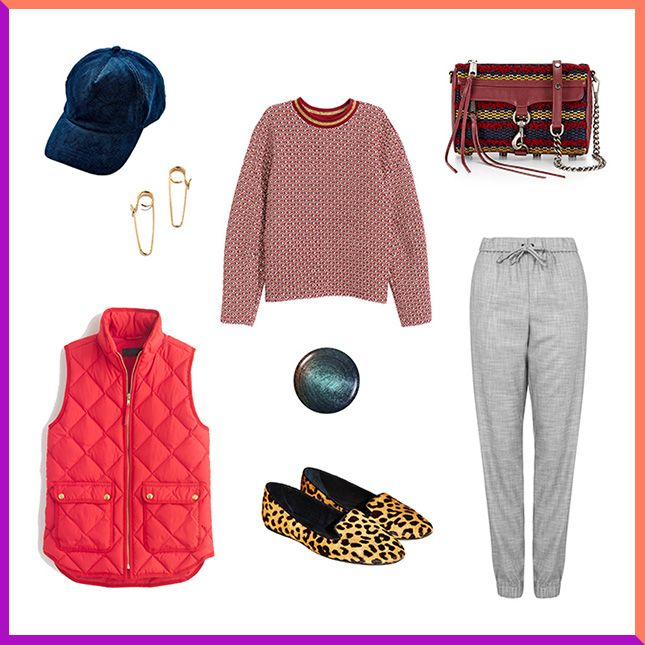 3 Ways to Look Stylish in a Quilted Puffer Vest via Brit + Co