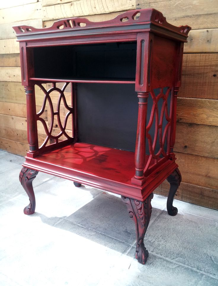 8 Best Images About Red Painted Furniture On Pinterest