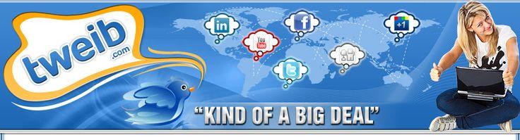 Tweib.com - Free Facebook Fans, Twitter Followers, YouTube Views, Website Traffic!
