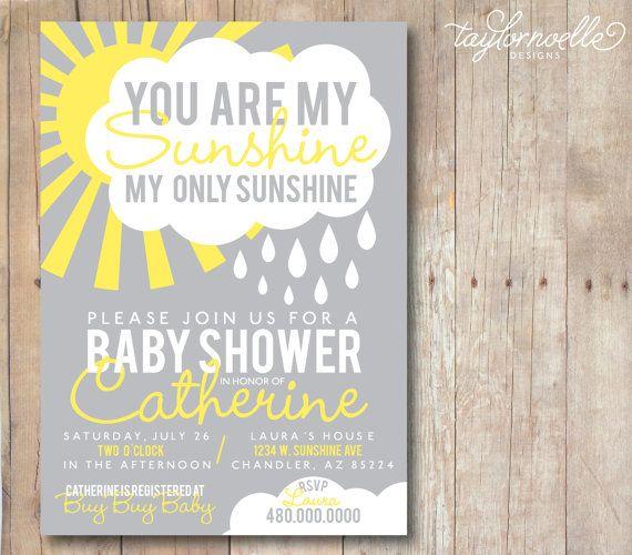 Best 25 Sunshine baby showers ideas on Pinterest