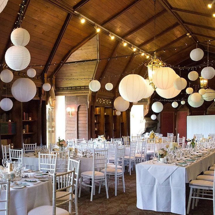 Round white paper lanterns are a simple yet effective way to transform your wedding venue. Hang these white paper lanterns from the ceiling of your wedding reception venue, marquee or outside, group in clusters or hang individually on different lengths of ribbon. If you are having a sweetie buffet hang a cluster of paper lanterns above it to make a lovely frame. Our round white paper lanterns are available in 2 sizes Small: 25cm diameter Large: 35cm diameter These come flat packed but are…