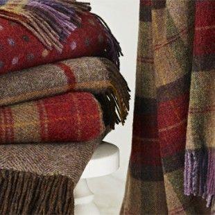 Bronte Shetland Pure New Wool Throws