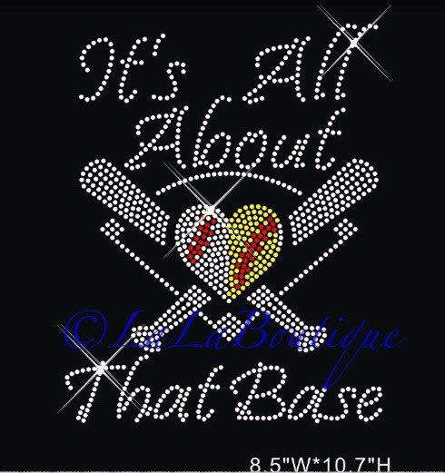 A personal favorite from my Etsy shop https://www.etsy.com/listing/274518836/baseball-and-softball-heart-iron-on-hot