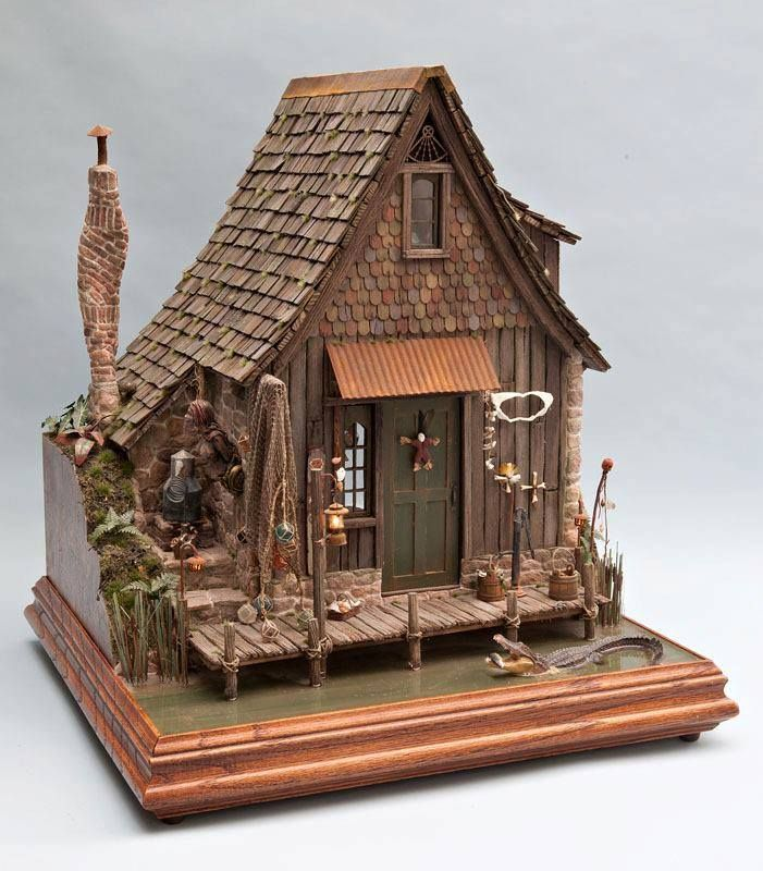 The 50 Best Diy Miniature Fairy Garden Ideas In 2017: 503 Best D1: Small Dollhouses And Cottages Images On