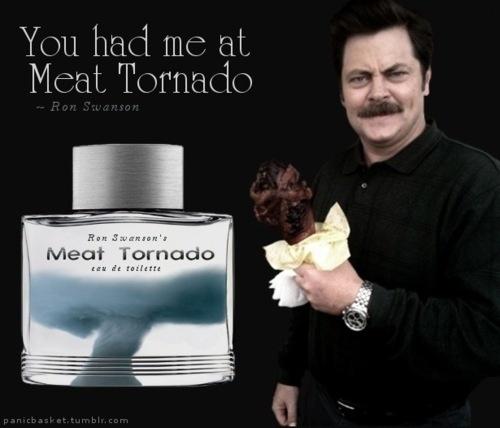 Ron Swanson's Meat Tornado cologne