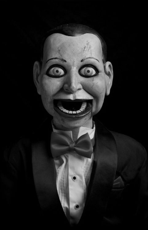 "PREDICTION:  In 2050, under the new It's Just Not Right laws, Mr. Malicious will become the first ventriloquist's dummy to receive the death penalty for being ""too creepy for words.""  His ventriloquist, Axyl Gristlechop, will be found not guilty."