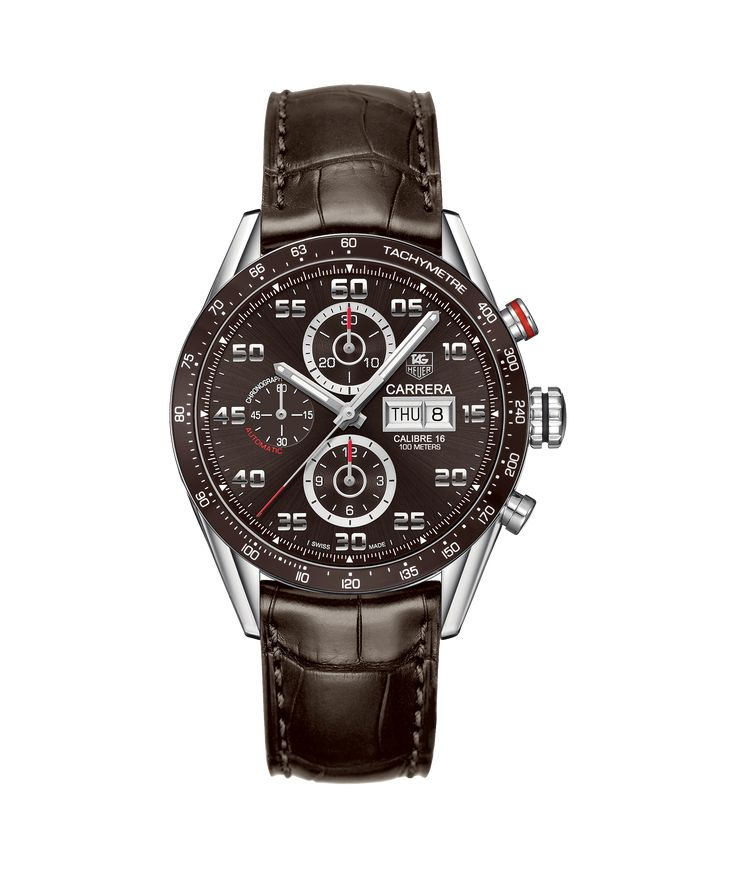 TAG Heuer Carrera Calibre 16 Day-Date Automatic Chronograph 100 M - 43 mm CV2A1S.FC6236 TAG Heuer watch price