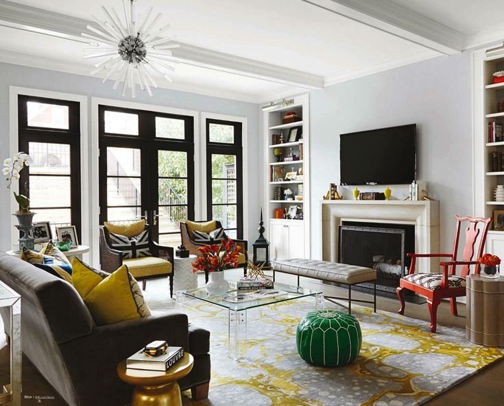Colorful Family Room Ideas Part - 48: Snip20151004_15. Colorful Family ...