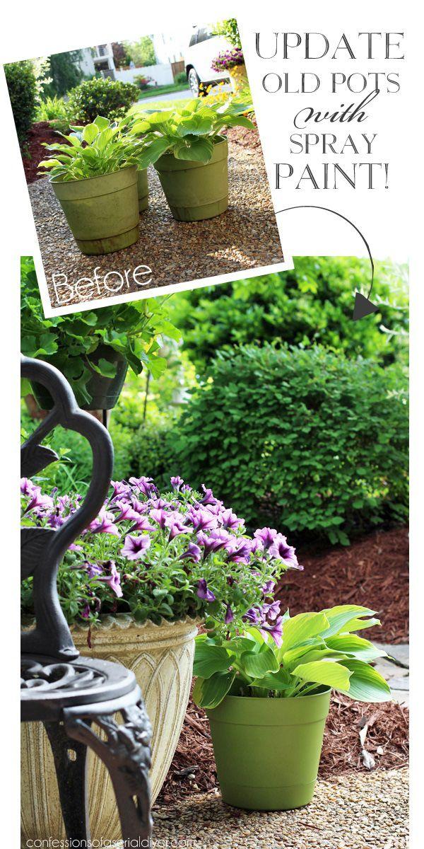 Cheap Large Planters For Outdoors Part - 44: Best 25+ Cheap Planters Ideas On Pinterest | Outdoor Flower Planters,  Decorative Planters And Garden Pots Ideas Diy