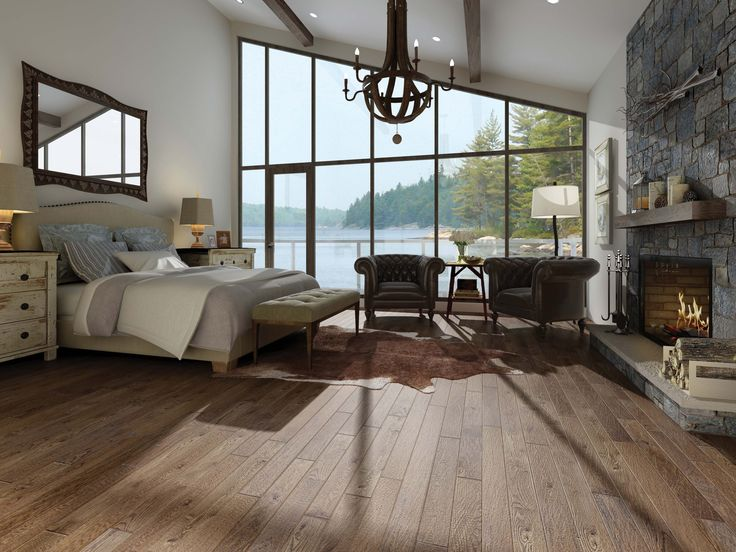 """Superior Flooring 4 1/4"""" Select and Better Praline"""