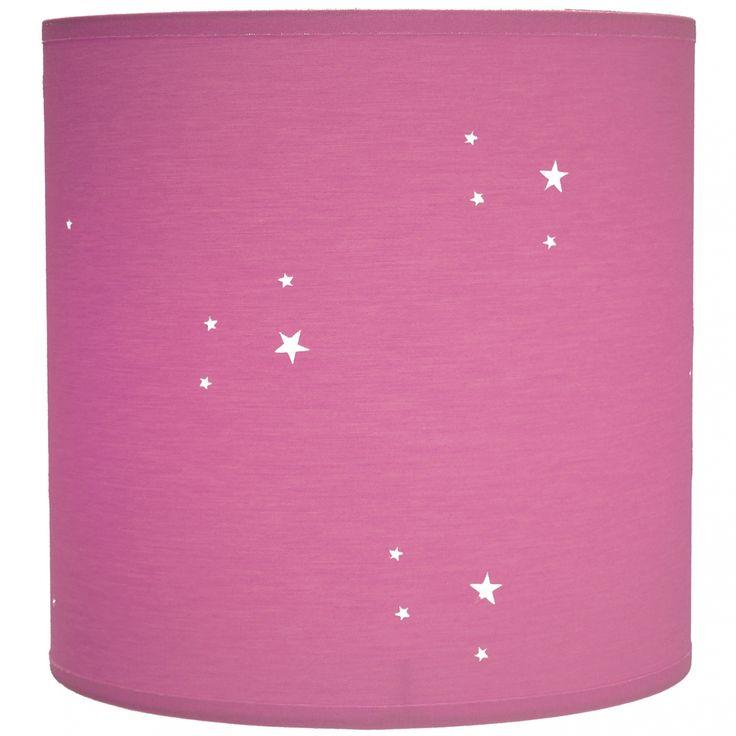Suspension étoiles ajourées (12 coloris) : Abat-jour Enfant - Suspension cylindrique - Berceau Magique