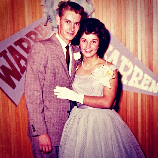 Vintage Photo 1950s Prom King And Queen by Christian Montone, via Flickr