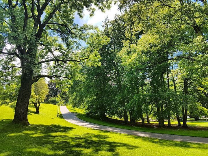 St. Hanshaugen Park. One of the oldest parks in #Oslo #Norway http://ift.tt/2sG5aaT