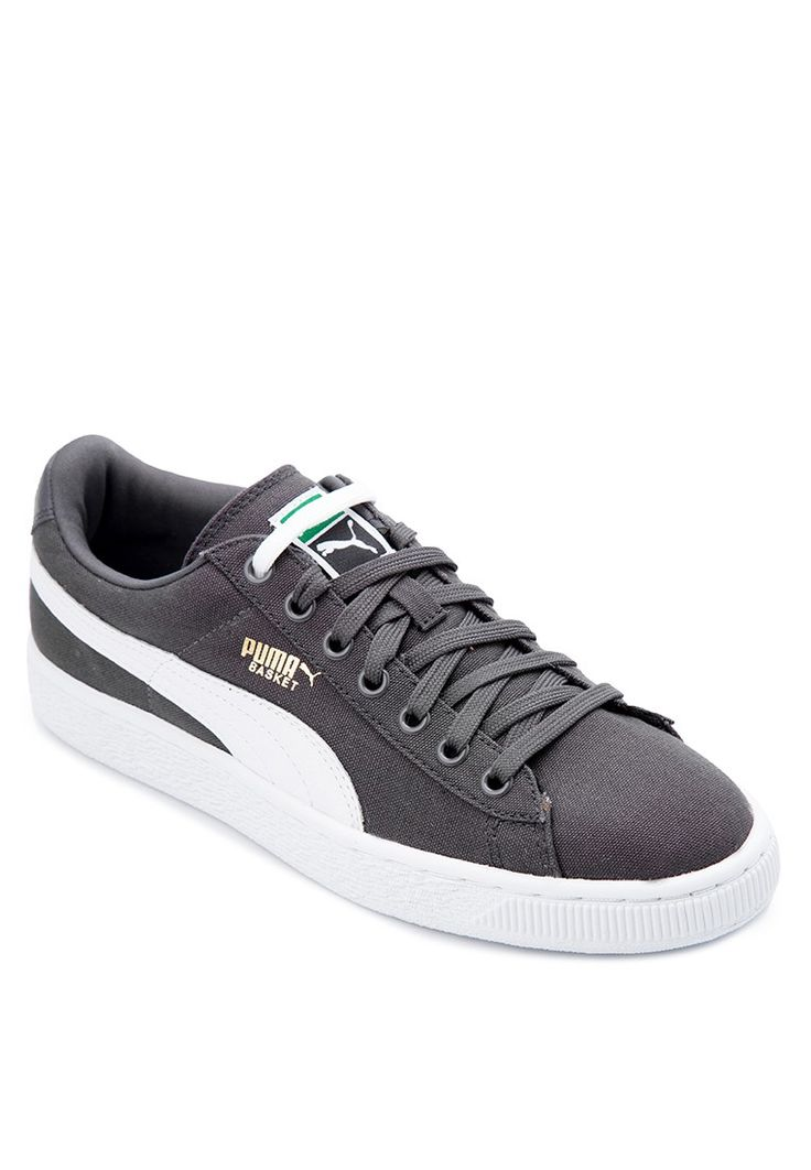 Basket Canvas Sneakers from PUMA in grey_1