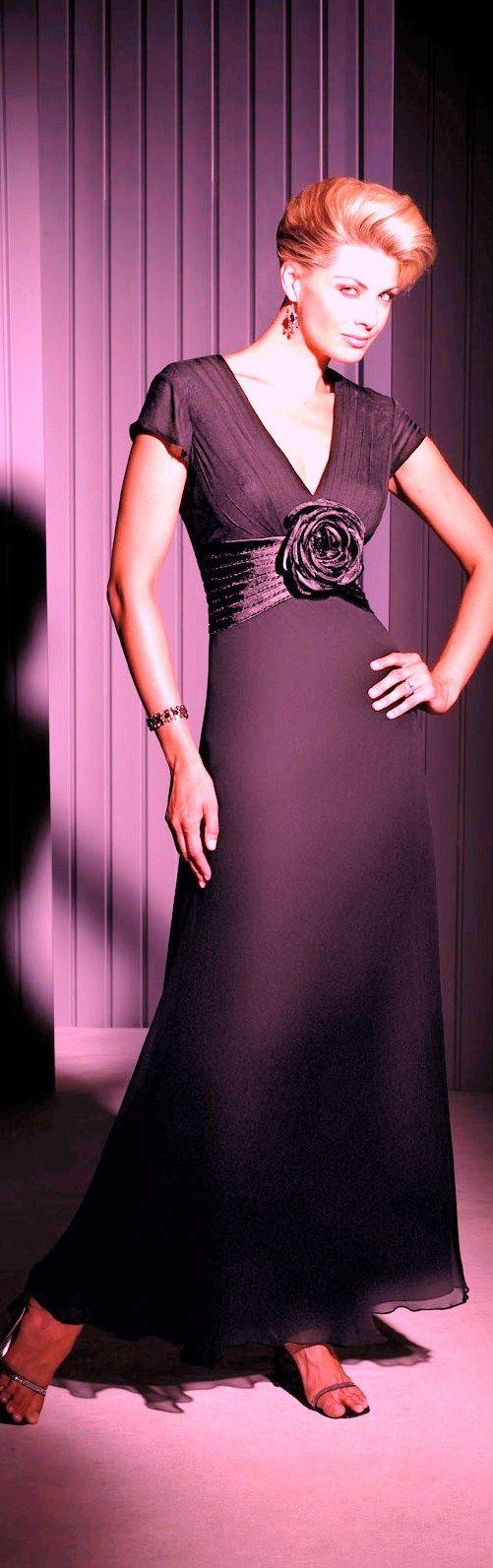 Lujoso Vestirse Para Una Boda Del Lazo Negro Galería - Vestido de ...