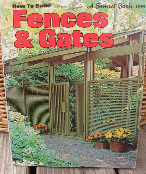 Mid Century Modern Fences and Gates / Modernist by sixcatsfunSTUFF