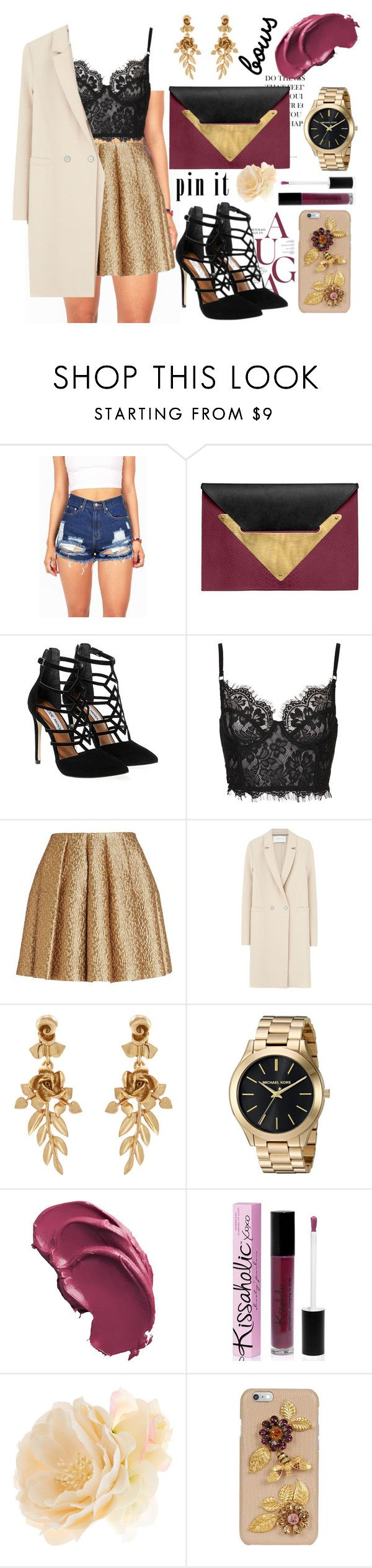 """""""happy new year!"""" by deepblueocean7 ❤ liked on Polyvore featuring Dareen Hakim, Steve Madden, Creatures of the Wind, Harris Wharf London, Oscar de la Renta, Parlor, Accessorize and Dolce&Gabbana"""