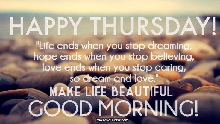 Happy Thursday,
