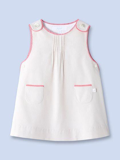 jacadi - Marine velvet dress