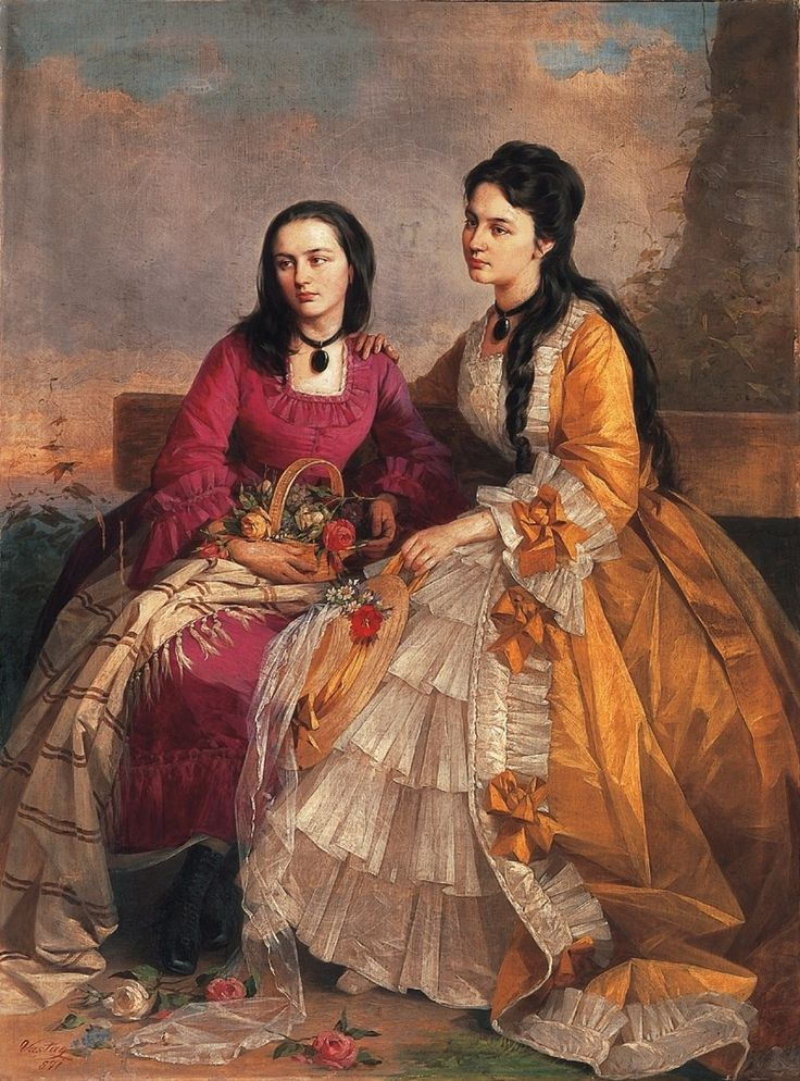 Nővérek - Vastagh György (festő) – Wikipédia