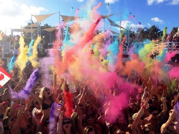 Oasis Cancun features many themed #springbreak parties @10Best - A Division of USA TODAY Travel